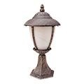Madrid kültéri álló lámpa (E27) antik arany, 41 cm