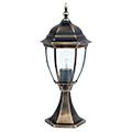 Toronto kültéri álló lámpa (E27) antik arany, 49 cm
