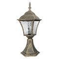 Toscana kültéri álló lámpa (E27) antik arany, 43 cm
