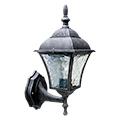 Toscana kültéri oldalfali lámpa, álló (E27) antik ezüst