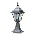 Toscana kültéri álló lámpa (E27) antik ezüst, 41 cm