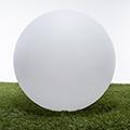 -RGB LED világítású kerti dekoráció, akkuval, távirányítóval - gömb 30cm