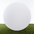 RGB LED világítású kerti dekoráció, akkuval, távirányítóval - gömb 40cm
