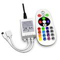 RGB vezérlő - Infravörös, 25 gombos (72W)