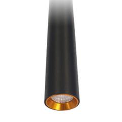 ROD LED függeszték (3Watt/24°) 60 cm, meleg fehér, fekete