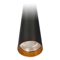 ROD LED függeszték (9Watt/24°) 60 cm, meleg fehér, fekete