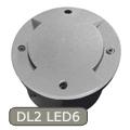Roger DL2-LED6 - járófelületbe építhető LED lámpa