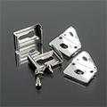 Aluminium profil LED szalaghoz (AP-9981/9982)  Rögzítő + végzáró elem 2+2 db