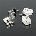Aluminium profil LED szalaghoz  (AP-9983/AP-9984) Rögzítő + végzáró elem 2+2 db