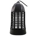 Elektromos rovarcsapda, UV fénycsővel (4W/T5), fekete