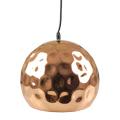 Fém csillár (E27), felfüggeszthető, gömb bura, M, rose gold