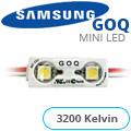 GOQ Samsung LED modul (5050x2/150°/IP68) - 3200K (5 ÉV)