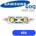 GOQ Samsung LED modul (5050x2/150°/IP68) - Kék (5 ÉV)