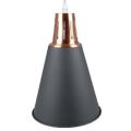 Sands modern függőlámpa (E27) - fekete színű ernyő