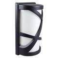 Shogun oldalfali lámpa IP54 (E27) - fekete