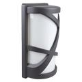 Shogun oldalfali lámpa IP54 (E27) - szürke