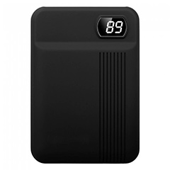 PowerBank külső akkumulátor SuperSmall Digital (2xUSB) fekete - 10000 mAh