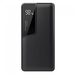 PowerBank külső akkumulátor Digital-II (1xUSB) fekete - 10000 mAh