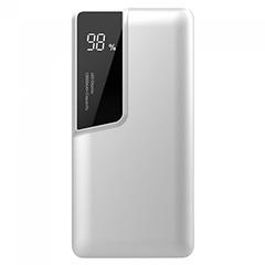 Power Bank külső akkumulátor Digital-II (1xUSB) fehér - 10000 mAh