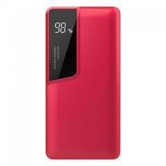 PowerBank külső akkumulátor Digital-II (1xUSB) piros - 10000 mAh