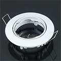 - Olcsó slim design spot lámpatest (kör), billenthető, fehér