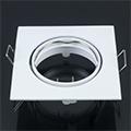 - Olcsó slim design spot lámpatest (négyzet), billenthető, fehér