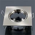 - Olcsó slim design spot lámpatest (négyzet), billenthető, mattk