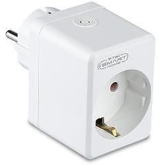 Smart fali aljzat + USB töltő - Wi-Fi vezérlés okos készülékekkel (IP20)
