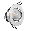 SOLIM COB LED Spot lámpatest (ezüst, bill.) 5W term. fény