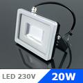 Slim LED reflektor (20 Watt/SMD/100°) Kék fényű