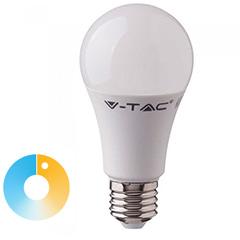 E27 LED lámpa (9W/200°) Körte - állítható színhőmérséklet (CCT)