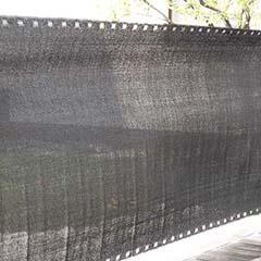 Szőtt árnyékoló háló 90%-os takarás (90 cm x 5 méter) belátáskorlátozó, sötétszürke