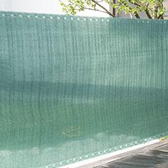 Szőtt árnyékoló háló 90%-os takarás (90 cm x 5 méter) belátáskorlátozó, zöld
