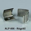 ALP-006 Tartó-, rögzítő elem alumínium LED profilhoz, fém
