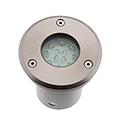 GRF LED 001 talajba építhető LED lámpa, kör (1.5W)