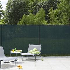 Szőtt árnyékoló háló 85%, rögzítő hurkokkal TEXANET (1.5x10 méter) zöld