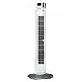 Torony ventilátor (55W - fehér) digitális hőmérséklet kijelzővel, távirányítható