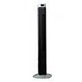 Torony ventilátor (55W - fekete) digitális hőmérséklet kijelzővel, távirányítható