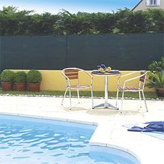 Szőtt árnyékoló háló 95%-os takarás, TOTALTEX (1x5 méter) zöld
