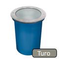 Talajba süllyesztett fémhalogén lámpatest, Turo Rx-7s/150W