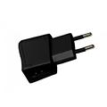 Utazó USB töltő adapter (5V DC - 2000 mAh) fekete - telefontöltő