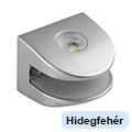 Üvegpolc világítás - Rubinas 2 LED (1 Watt) - hideg fehér