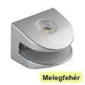 Üvegpolc világítás - Rubinas 2 LED (1 Watt) - meleg fehér