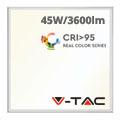 LED panel (600 x 600mm) 45W - természetes fehér, IK05 védelemmel, (CRI> 95 - RealColor)