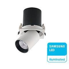 LED mélysugárzó kiemelhető, (18W/24°) Samsung - természetes fehér, CRI>90