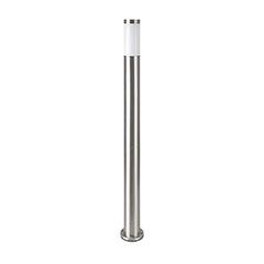 Inox Steel kültéri álló lámpa (E27) rozsdamentes acél 110 cm