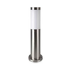 Inox Steel kültéri álló lámpa (E27) rozsdamentes acél 45 cm