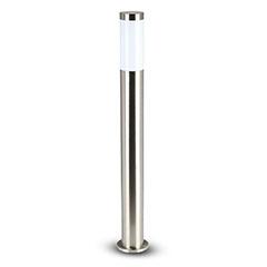 Inox Steel kültéri álló lámpa (E27) rozsdamentes acél 80 cm