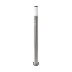 Inox Steel kültéri álló lámpa (E27) rozsdamentes acél, mozg. érz., 110 cm
