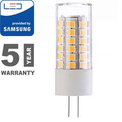 LED lámpa G4 (3.2W/300°) Rúd - meleg fehér, PRO Samsung